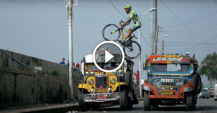 Watch: Road Bike Freestyle in Manila. Singletracks Mountain Bike News.