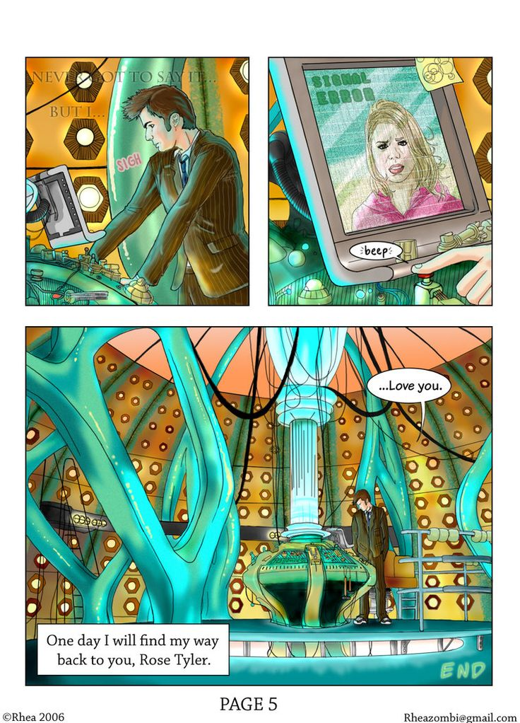 Doctor Who Comic - page 5 of 5 by ~Rhea-Batz on deviantART