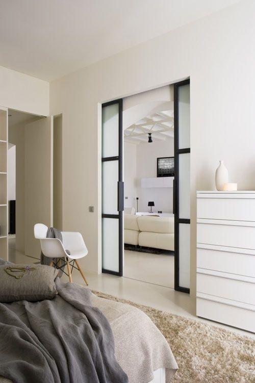 10+ Desain Pintu Geser Minimalis - sliding doors