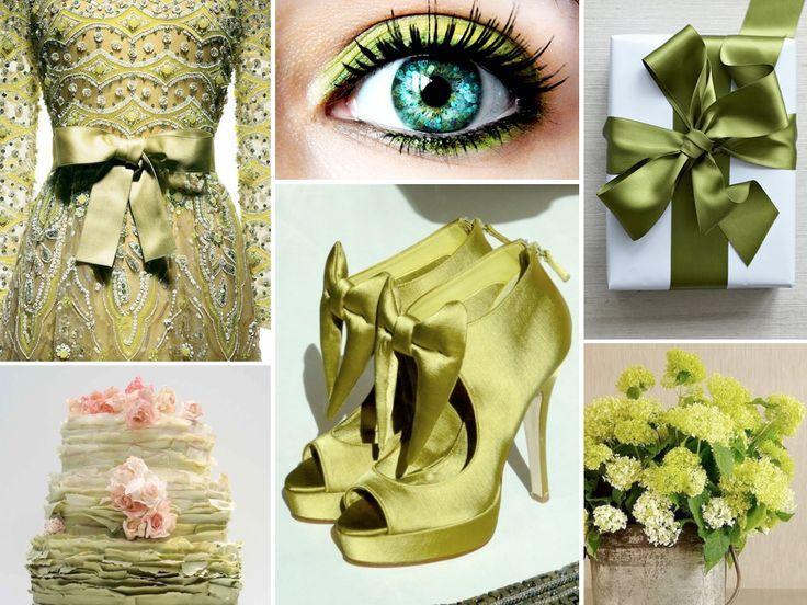 Groene bruiloft inspiratie
