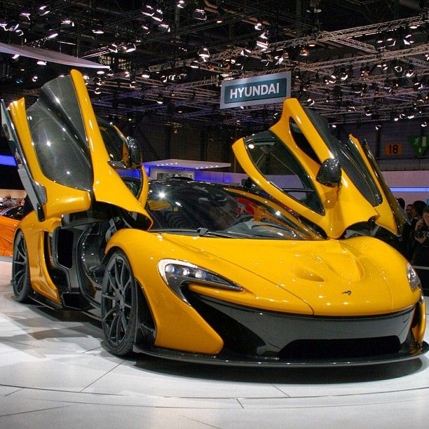The Best Looking Supercar Of 2013, McLaren P1