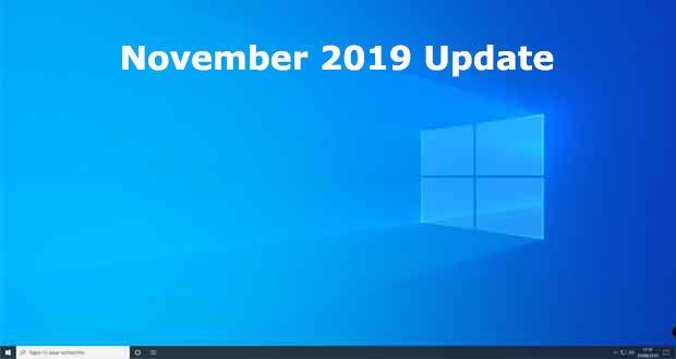 تحديث Windows 10 نوفمبر 2019 هو التحديث الذي يجب تثبيته بالتأكيد الليلة الماضية أعلنت Microsoft عن تحديث نظام التشغيل November Lockscreen