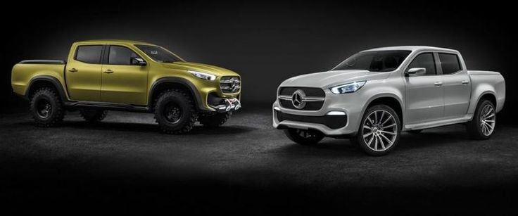 The new Mercedes-Benz pick-up is here: X-Class