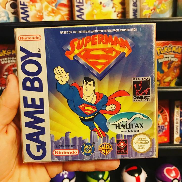 Superman ... .. . #retrogame #game #retrocollective #pokemon #gameboy #retro #gameboycolor #playstation4 #retrogaming #retrogames #retrogamer  #nintendo #pikachu #gaming #videogames #playstation #dccomics #oldschool #videogame #superman #justiceleague #picoftheday #childhood #italia #instagood #supernintendo #nes #nerd #90 #90s