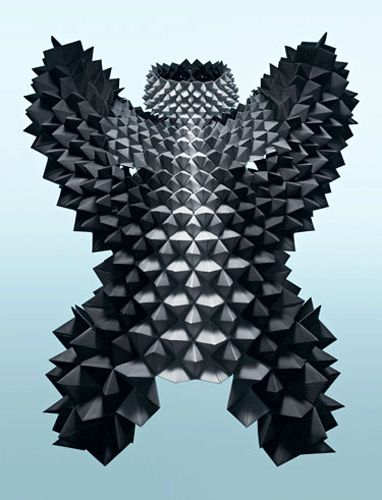Sandra Backlund, #origami, #fashion, #couture