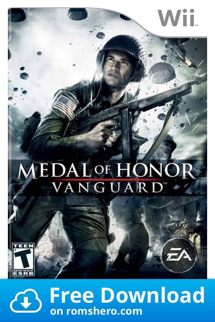 Download Medal Of Honor Vanguard Nintendo Wii Wii Isos Rom Medal Of Honor Video Games Nintendo Nintendo Wii