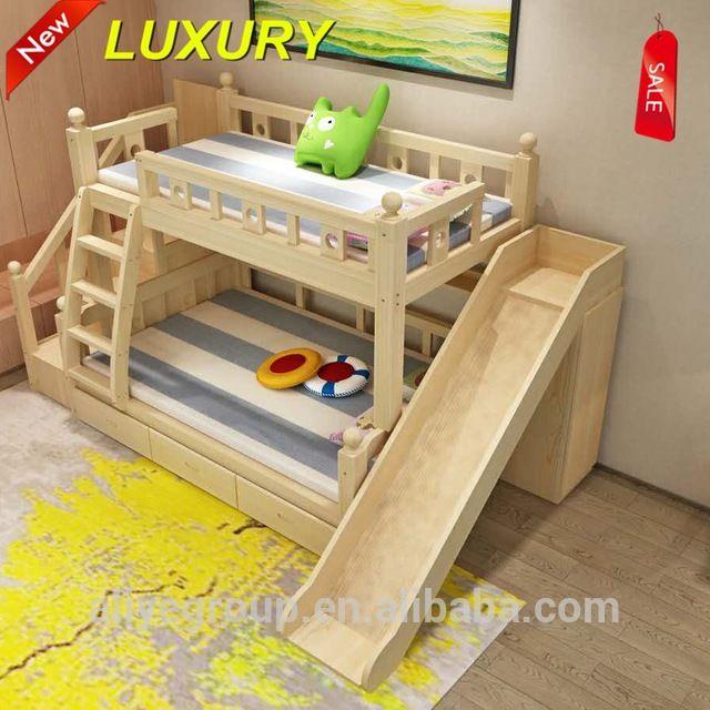 ZC06-precios de fábrica barato niños litera con tobogán-en Camas para niños de Mobiliario Infantil en m.spanish.alibaba.com.