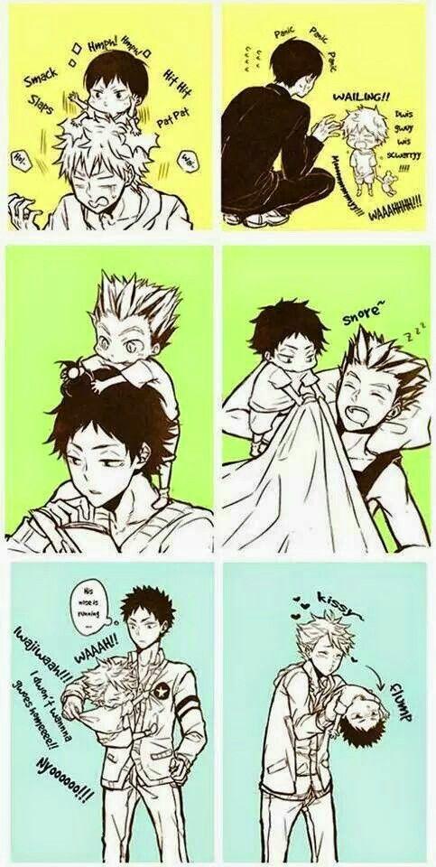 S: Haikyuu!! D: This comic so is cute!!!!!!!: