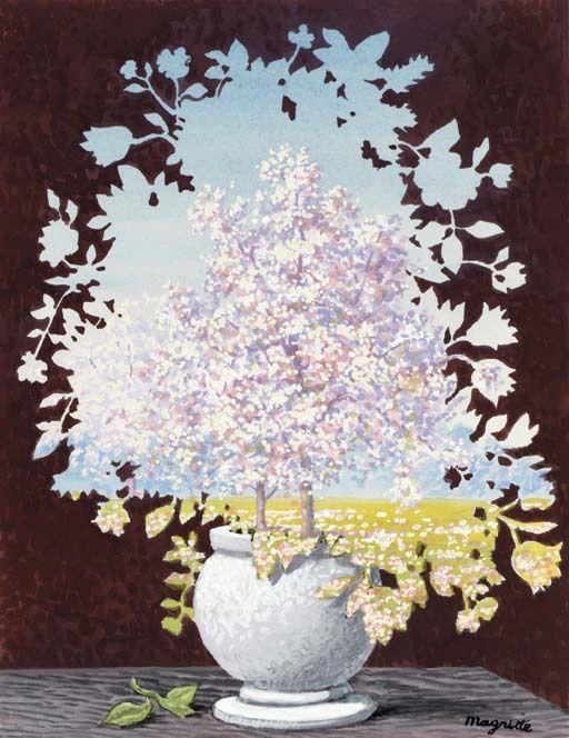 L'éclair, René Magritte, 1959