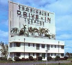 tropicaire drive thru movie theatre // miami, fl