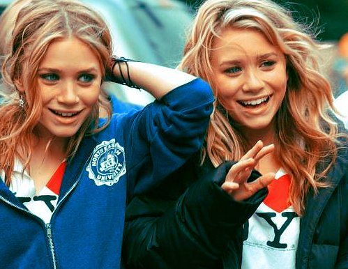 Olsen twins! i love them sooo much! i was their biggest fan when i was little!!!(:
