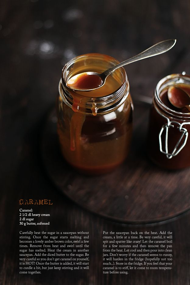 Everyone should know how to make a caramel sauce from scratch