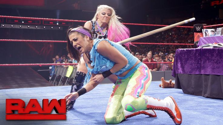 Bayley might be ready to get EXTREME, but she is STILL one step behind The WWE Raw Women's Champion Alexa Bliss...