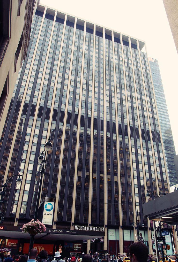Madison Square Garden ve městě New York, NY
