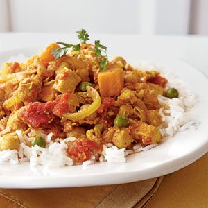 Great Meals for Friends | Sweet Potato Chicken Curry | CookingLight.com