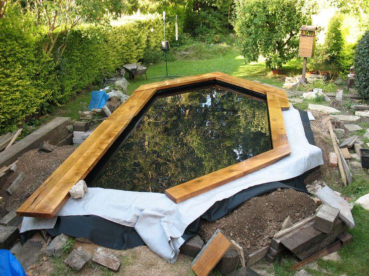 Best 25 raised pond ideas on pinterest garden pond for Raised koi pond design