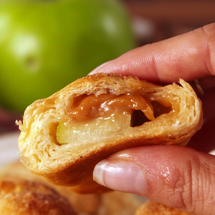 These crescents have all the flavors of apple pie, without the headache.