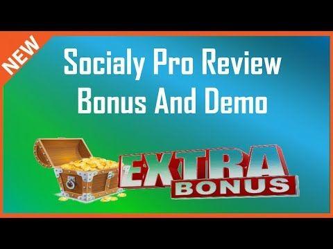 Socialy Pro Review | Demo And Socialy Pro Bonus - YouTube