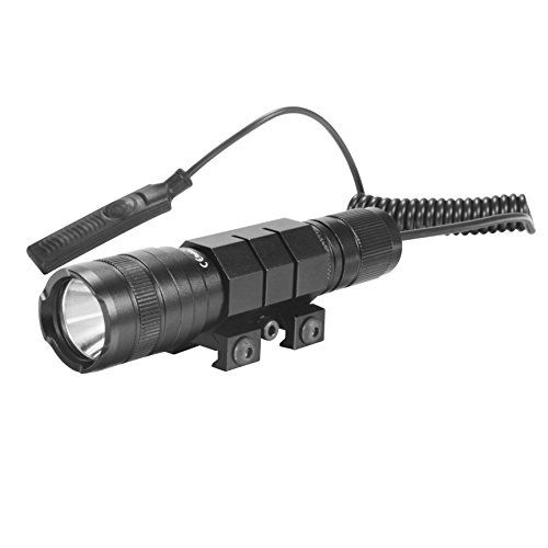 OxyLED Tactical Flashlight, Emergency Flash light with Rechargeable Battery Rail Mount for Hunting - OxyLED - Natural Life, Natural Lights  Designed for peak performance in the harshest environments, this OxyLED TL-01 Tactical Flashlight is ready for daily life use or be mounted on any gun rail via standard 20mm Picatinny/Weaver rail mount. Controlled by constant-on press switch or momentar...
