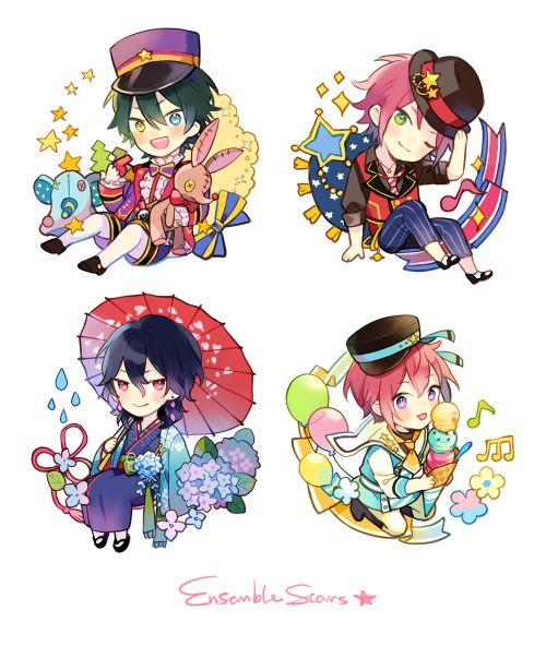 Mika, Mao, Rei, & Tsukasa | Ensemble Stars!