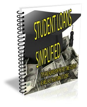 Student Loans Simplified presents tips and advice for the first time student as well as the returning student    Presented in this guide you will find:     A Guide To The Federal Direct Student Loan Program   An Introduction to College Scholarships   Are Student Loans Transferable From One School To Another   Contacting Current Financial Aid Administrator   Contacting the Financial Aid office at Your New School   Important Tasks before Transferring   5 Questions To Ask Yourself Before