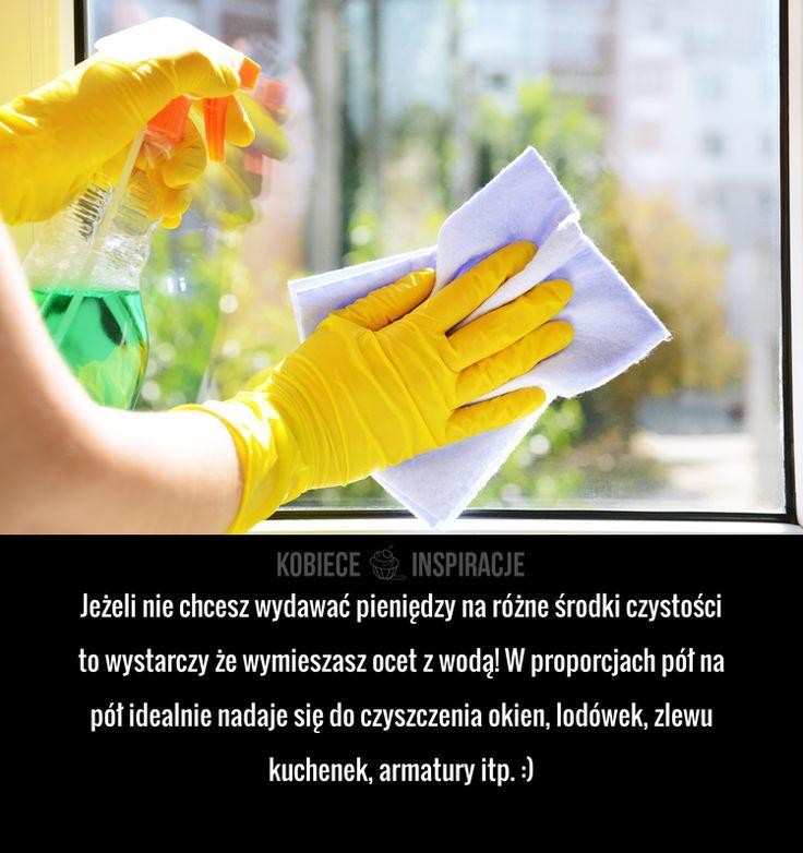 Jak zrobić uniwersalny środek czyszczący?