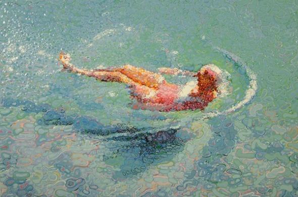 Waterdrop art