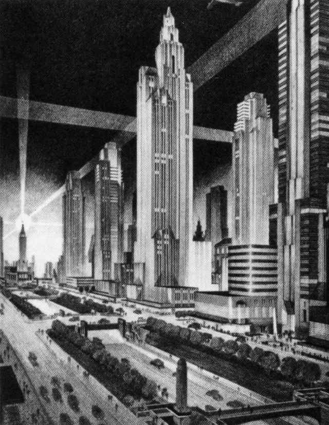 Best Never Built Art Deco Skyscrapers Images On Pinterest