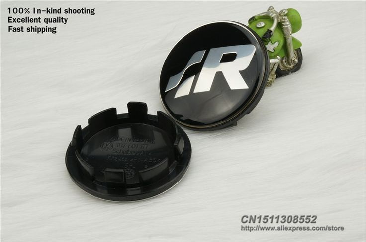 """Find More Emblemas do Carro Information about [fast shipping] best quality 4 pcs 65mm vw volkswagen r logo wheel center cap emblem badge p/n 3b7601171 2.56"""" volkswagen hub cap,High Quality tampão,China tampão para Suppliers, Cheap gás tampão from Wheel hub cover manufacturer on Aliexpress.com"""