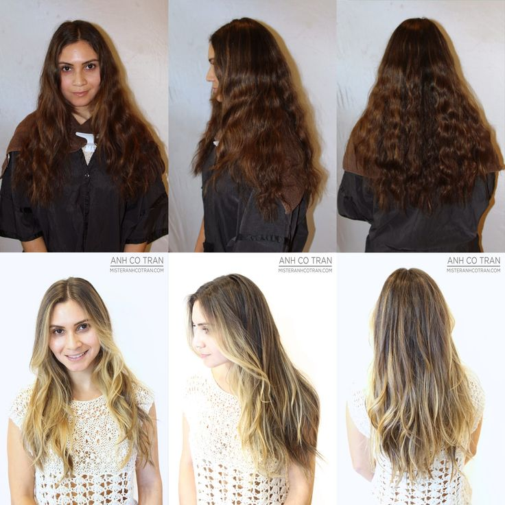 62 best long hair images on pinterest longer hair for 3 brunettes and a blonde salon