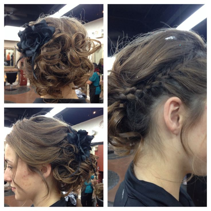 Formal hair by Heather West @ Euphoria Salon and Spa