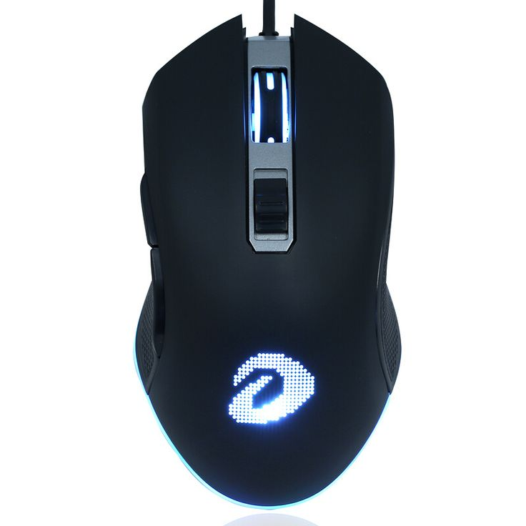 Dareu EM905 6 Button 4000DPI RGB LED Optical Professional Wired Gaming Mouse Backlight Mice For PC