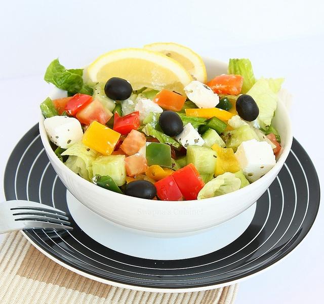 Greek Salad-3 by swapnaz, via Flickr