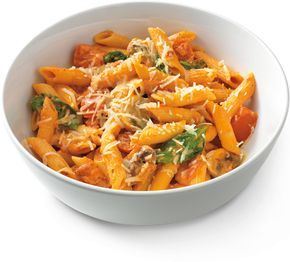 Noodles & Company has become one of my favorite fast-serve restaurants as of lately.  I love the selection of creative pasta dishes they offer.  My go-to dish is the Penne Rosa with Parmesan-cr…