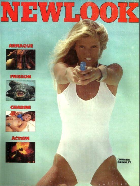NewLook Magazine August 1983, Christie Brinkley   COVERS ...