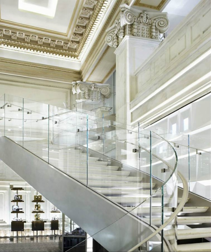 ♂ Tiffany store Wall Street in New York by Yabu Pushelberg and Ted Moudis _