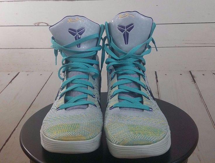 #Nike #Kobe 9 IX #Expression #High Size 11 #Basketball Shoes #Wolf #Grey 3Court #Purple