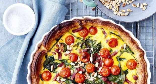 Quiche aux lardons et légumesVoir la recette de la quiche aux lardons et légumes