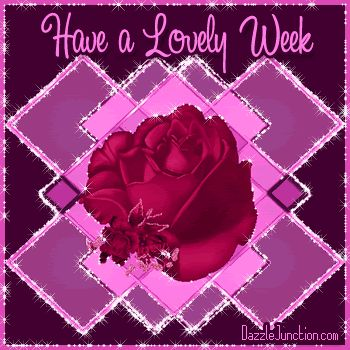 Great Week Pink Flower Picture Image Graphic: