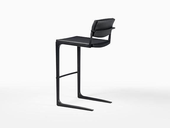 holly hunt studio shadow bar stool dining Pinterest