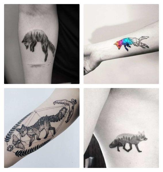 Tatuajes De Zorros Para Hombres Y Mujeres 2 Foto Para Tatuaje