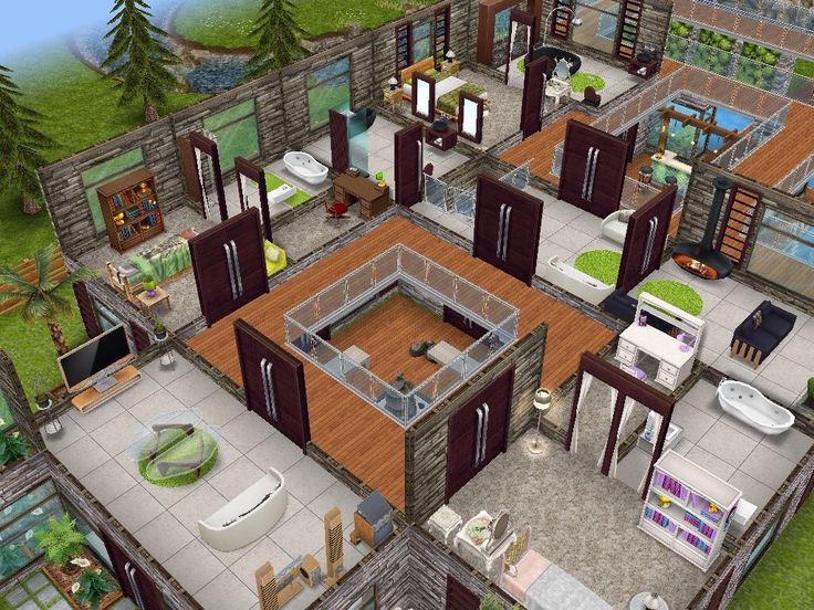 House 63 level 2 #sims #simsfreeplay #simshousedesign