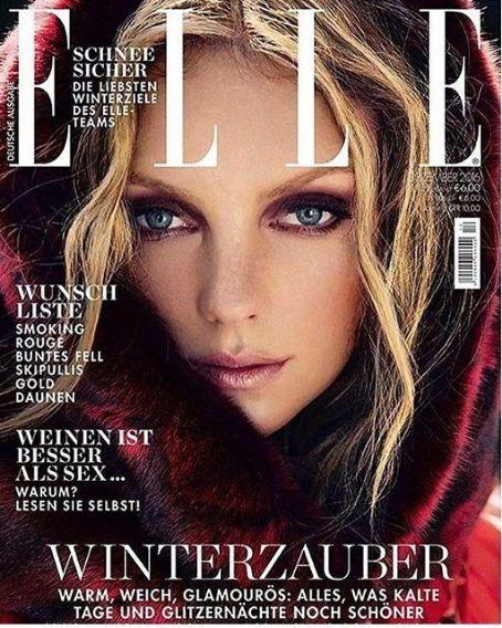 Heather Marks - Elle Magazine Cover [Germany] (December 2016)                                                                                                                                                                                 More