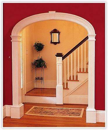 Curvemakers Patented Arch Kits Wood Arches D I Y Arched Doorways And Openings Interior Archways Diy Curved Moulding Trim