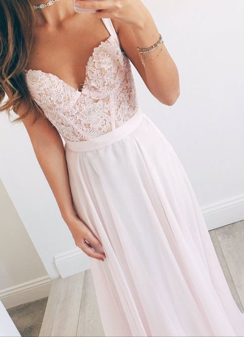 Charming Prom Dress,Pink Chiffon Prom Dresses,Long Prom Dress,Wedding