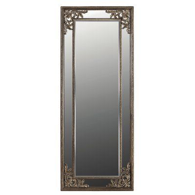 "Galaxy Home Decoration Evelyn Wall Mirror Size: 79.5"" H x 31.5"" W x 1.6"" D, Finish: Bronze"