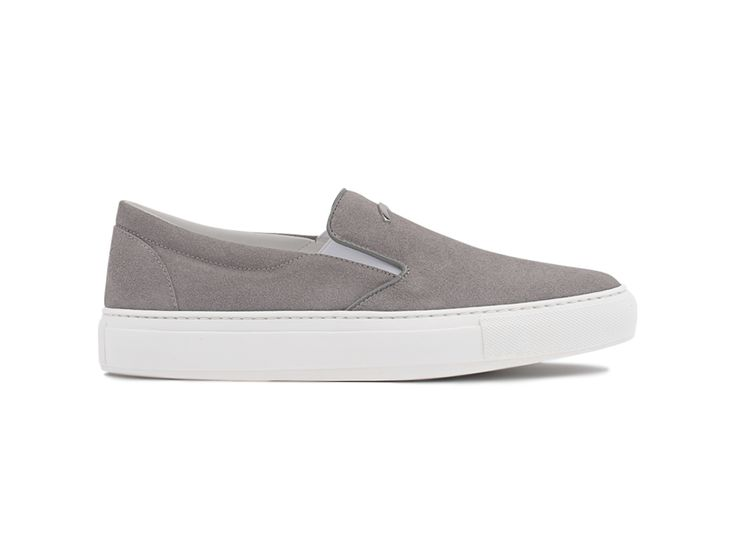 Slip On 01 Suede Light Gray