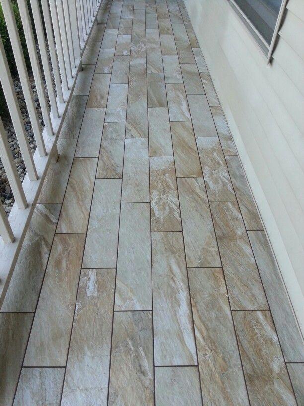 Front Porch Porcelain Tile Happy Floors Fitch Fawn
