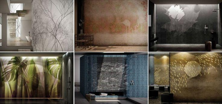 Die GLAMORA Wallcoverings aus hochwertigem und verarbeitungsfreundlichem Vlies werden für jede Wand individualisiert und maßgeschneidert hergestellt. Jede Wand ein Unikat!
