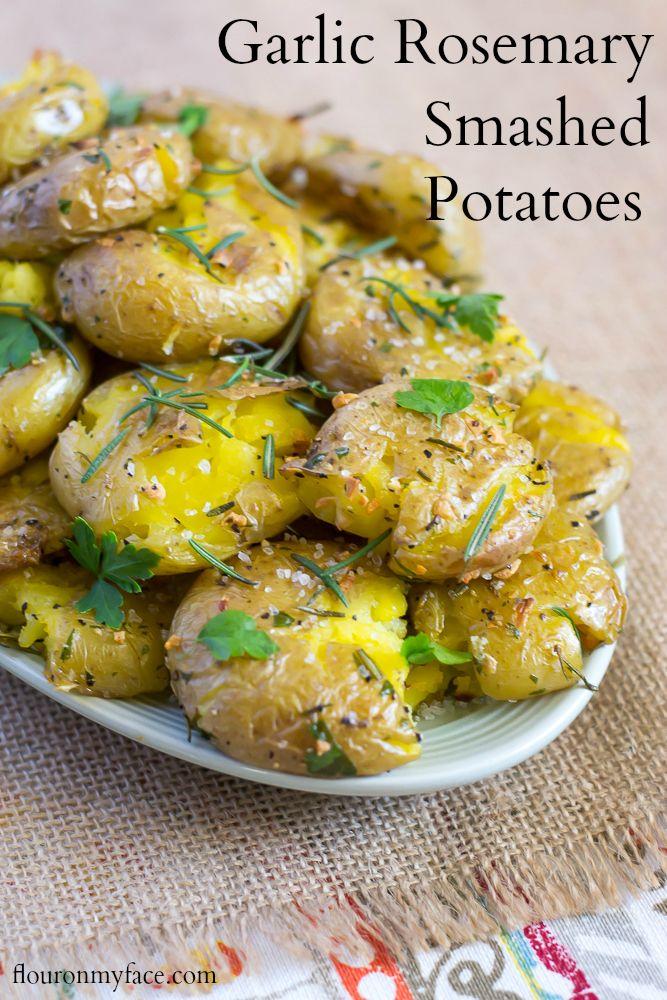 Garlic Rosemary Baked Sweet Potato Chips Recipe — Dishmaps